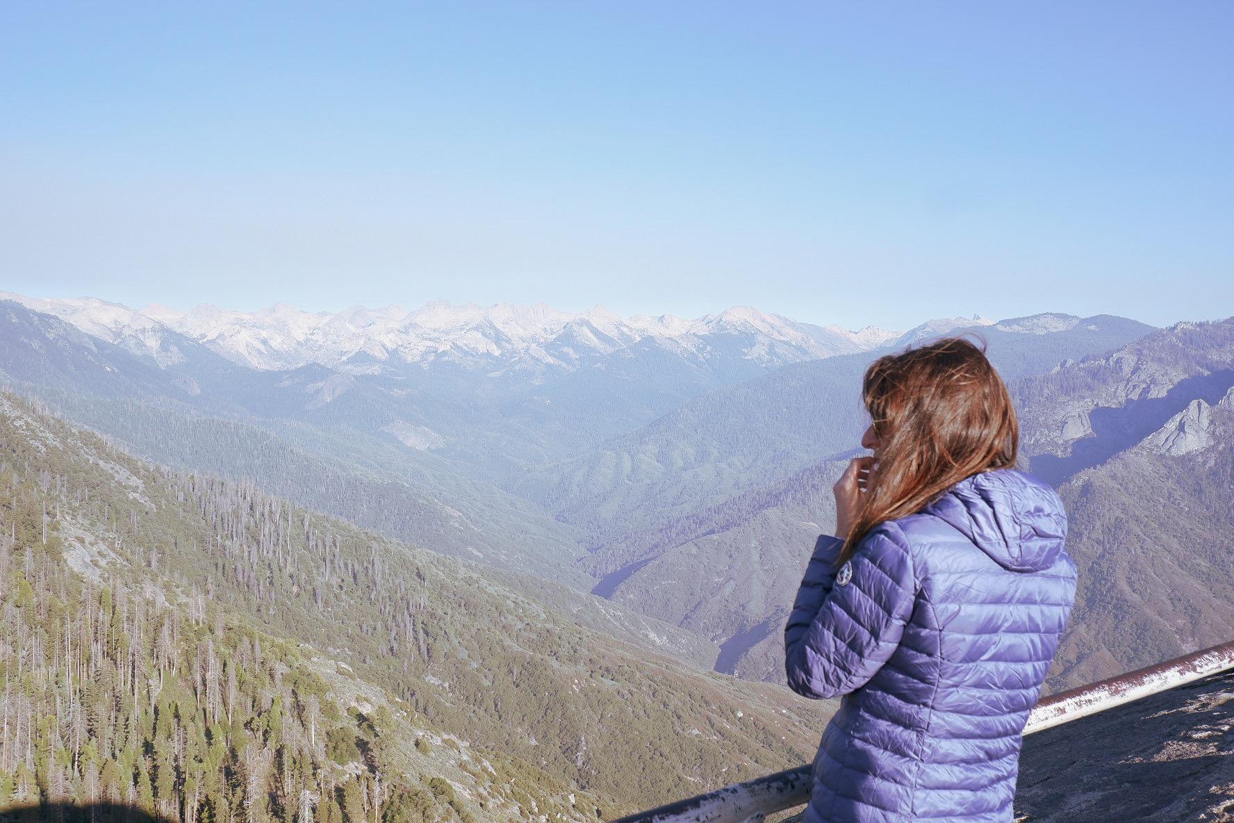 Moro Rock - Sequoia National Park, Californie